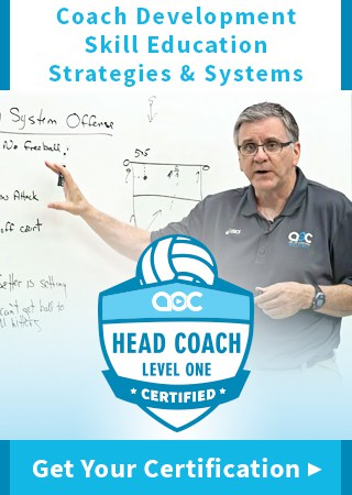Volleyball Head Coach Certification