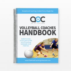 Volleyball Coaches Handbook - Cover