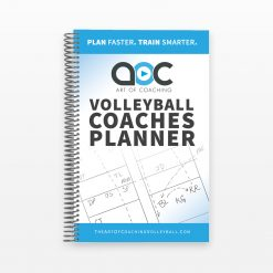 Volleyball Coaches Planner Cover