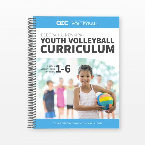 Youth Volleyball Curriculum Cover
