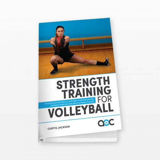Strength Training for Volleyball - Cover