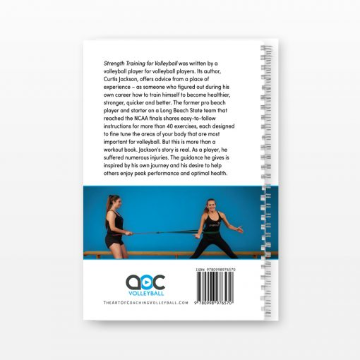 Strength Training for Volleyball - Back Cover