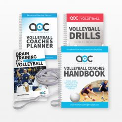 Volleyball accessories kit for coaches