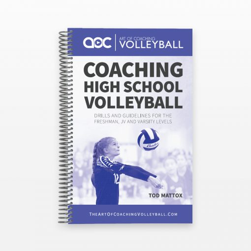 Coaching High School Volleyball - Cover
