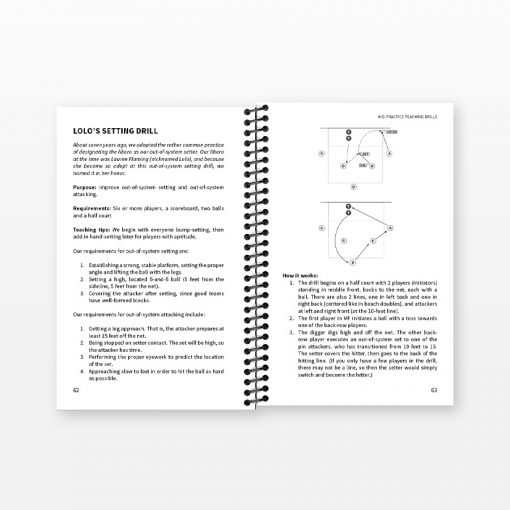 Coaching High School Volleyball - Sample pages
