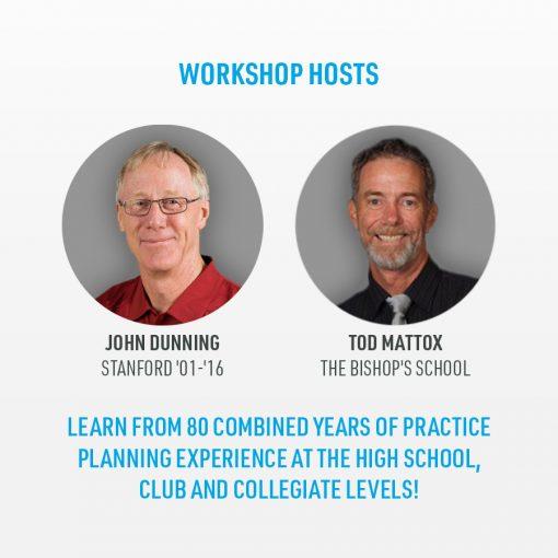 Workshop hosts: John Dunning & Tod Mattox