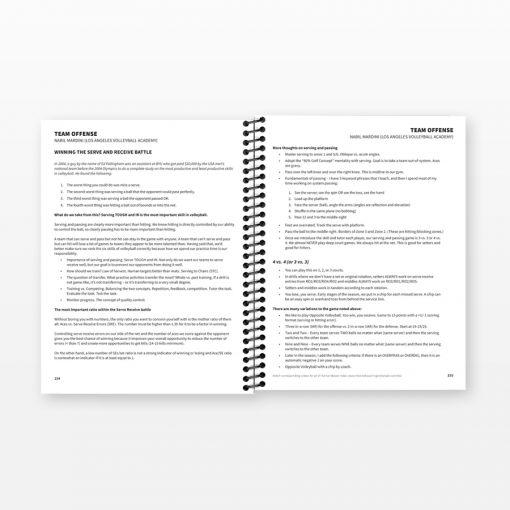 AOC Volleyball Coaches Handbook, Volume 2